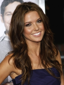 Chocolate Hair Color on Tags  Audrina Patridge Hair   Audrina Patridge Hairstyles   Wavy