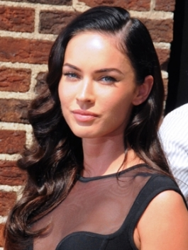 Megan Fox Retro 40s Hairstyle