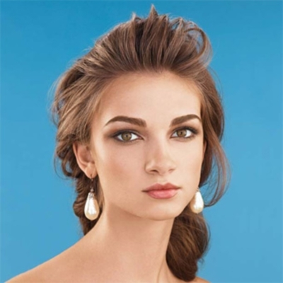 Outstanding Loose Bun Wedding Hair Hairstyle Inspiration Daily Dogsangcom