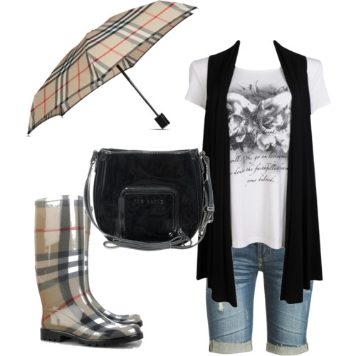selena gomez outfit ideas. Rock Chic Rainy Days Outfit
