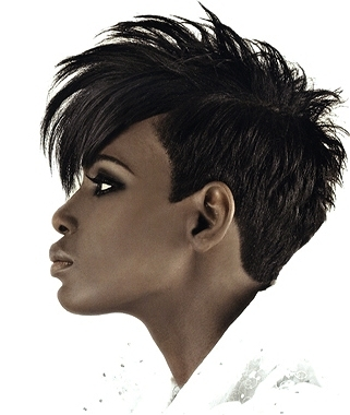 edgy short black hairstyles 2013 black short hair is usually