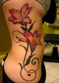 Top Floral Tattoo Designs