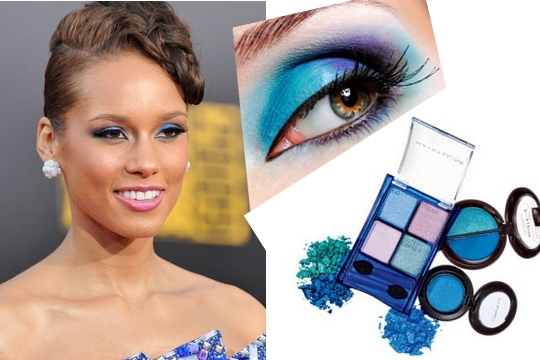 Blue Eye Makeup Blue is the new black if you wish to make the most of