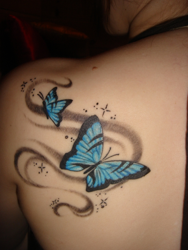 tattoo girly cute designs tattoos butterfly pretty skin body 3d tatoos feminine simple tatoo tatto meaning shoulder really unique foot