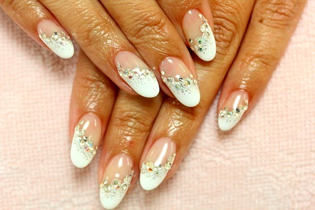 Gorgeous Wedding Nail Art Ideas