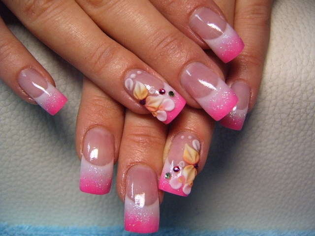 Nail Art Ideas: Colorful Fall Nail Art Ideas