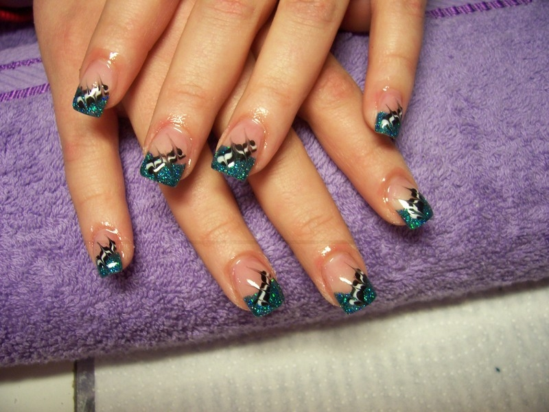 The Awesome Crazy nail designs colorful Image