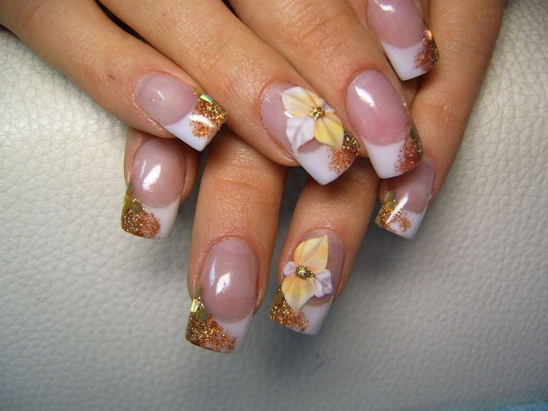Colorful Fall Nail Art Ideas.