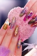 Colorful Fall Nail Art Ideas