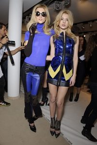 Fall/Winter 2010 Electric Blue Fashion Trend
