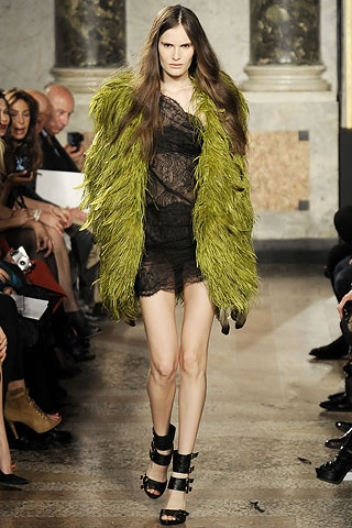 Fall/Winter 2010 Feathers Fashion Trend.