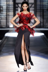 Fall/Winter 2010 Feathers Fashion Trend