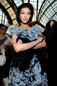 Fall/Winter 2010 Pale Blue Fashion Trend