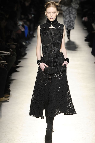 Fall Winter 2010 Gothic Fashion Trend