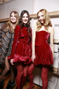 Fall/Winter 2010 Velvet Fashion Trend