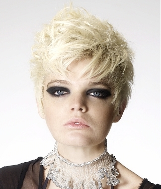 punk spiky hairstyles as these generally require a thick hair texture.