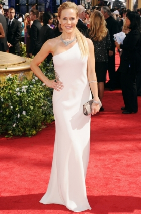 Julie Benz 2010 Emmys Red Carpet