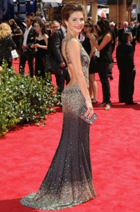 Maria Menounosdress at 2010 Emmy Awards