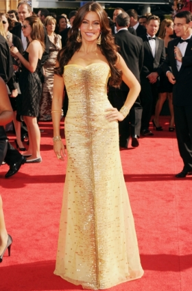 Sofia Vergara at the 2010 Emmys