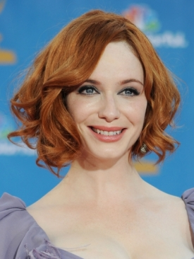 Christina Hendricks 2010 Emmy Awards Hairstyle