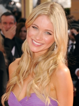 Katrina Bowden 2010 Emmy Awards Hairstyle
