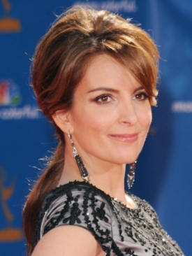 Tina Fey 2010 Emmy Awards Hairstyle