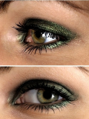 Holiday Smokey Eyes Makeup
