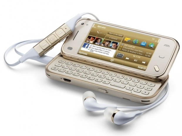 Nokia N97 Mini Gold Edition phone