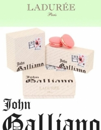 John Galliano for Ladurée Macarons