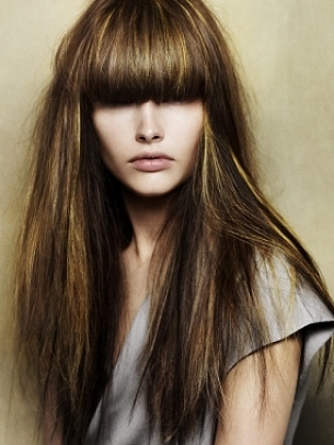 Long Hairstyles 2011 With Fringe. dresses black hairstyles long