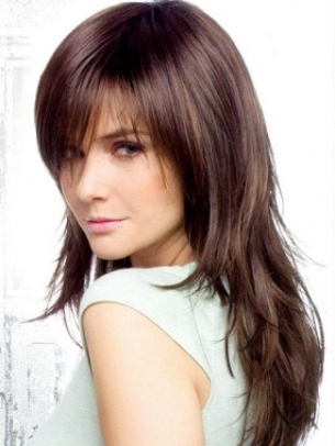 Celebrities  Bangs on Blunt Cut Bangs Frame Beautifully The Face Shape So They Will