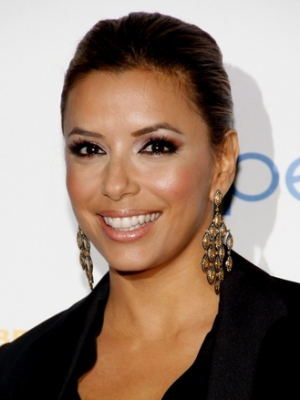 Eva Longoria Celebrity Style Long Earrings