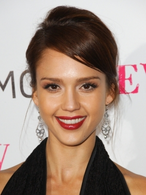 Jessica Alba Celebrity Style Long Earrings