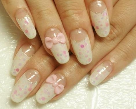 Nail Art for Teens http://world-beauty-center.blogspot.com/2011/07/girly-nail-art-designs.html