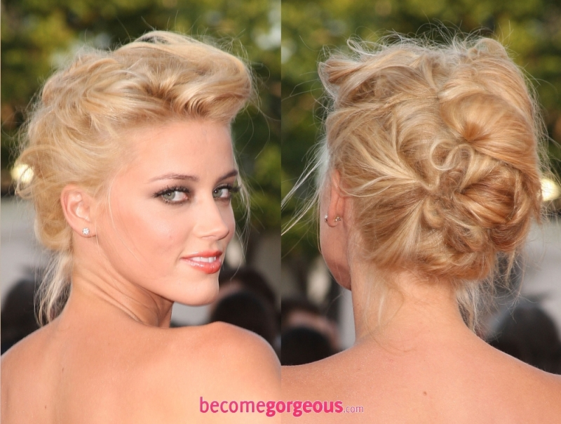 Latest Hair Do : New Years Eve Party Hairstyles Amber Heard