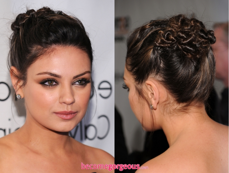 New Years Eve Updo Hairstyles