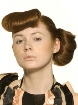 pin up hairstyles. Pin Up Girl Hairstyles