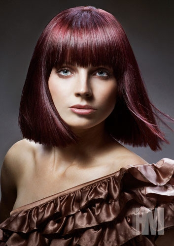 hair style machine bold hair color ideas 2011 makeup tips and fashion 8442