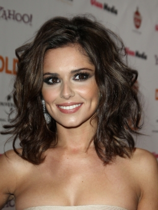 Cheryl Cole Wavy Hairstyle