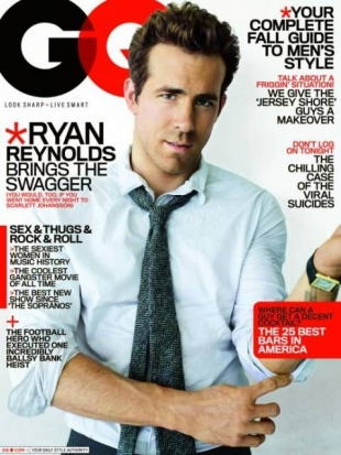 Ryan Reynolds GQ Cover