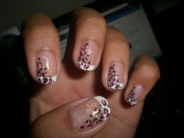 Cheetah acrylic nail designs nail designs hair styles tattoos trendy nail art designs solutioingenieria Choice Image