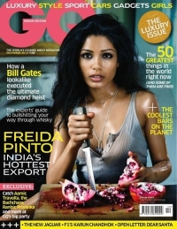 Freida Pinto Goes Sexy for GQ India