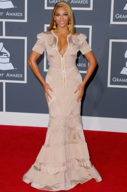 Beyonce Dress 2010 Grammy Awards