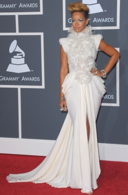 Rihanna at the 2010 Grammys