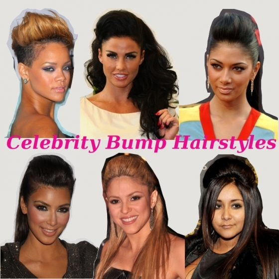 Celebrity Bump Hairstyles