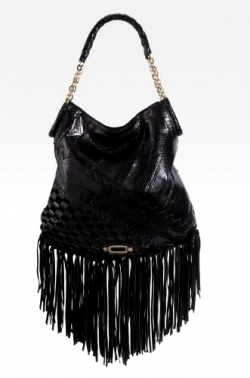 Jimmy Choo Tatum Fringe Shoulder Bag