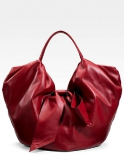 Valentino 360 Red Nappa Hobo