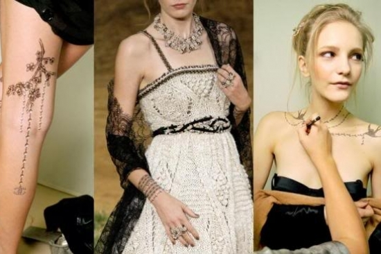 Chanel Temporary Tattoo Designs