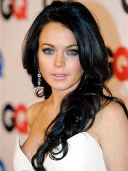 lindsay lohan hair color transformations