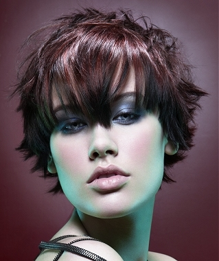 Short Hairstyles For Thick Hair With Bangs Very